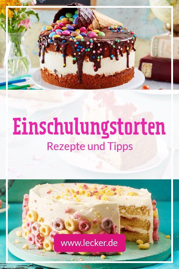 Einschulungstorte Rezepte Und Deko Tipps Lecker In 2020 Kuchen Einschulung Torte Einschulung Kuchen Und Torten