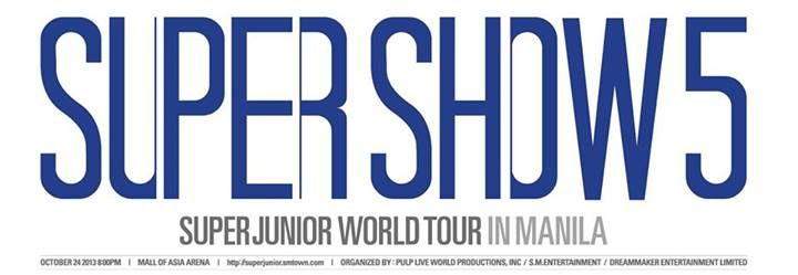 Ticketing details for Super Junior's concert in Manila released
