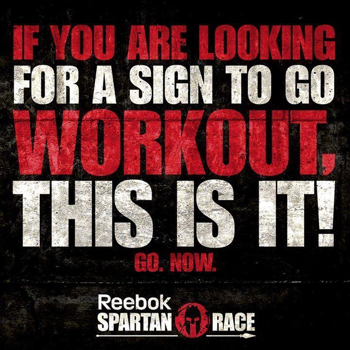 Eğer egzersizinize başlamak için bir işaret bekliyorsanız, beklediğiniz işaret bu!. Hadi çalışmaya.