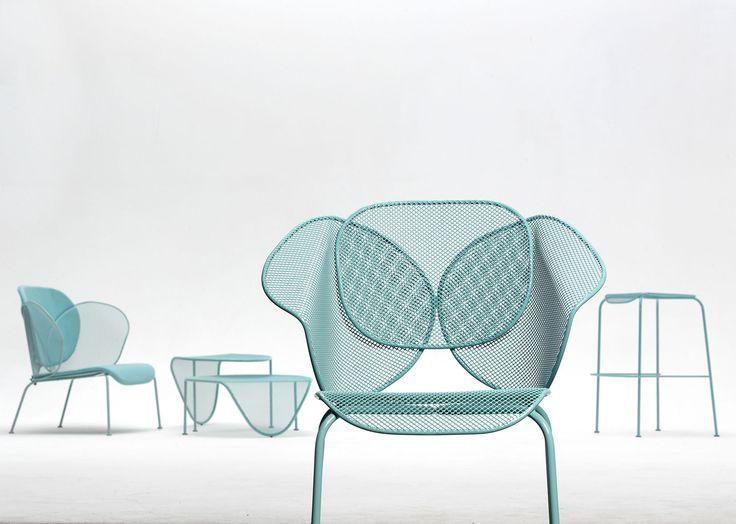 Chaise design original - ELITRE COLLECTION by Philippe Bestenheider - AREA DECLIC