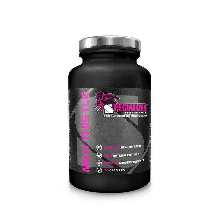 SPECIALIZED NUTRITION MILK THISTLE #SPECIALIZEDNUTRITION