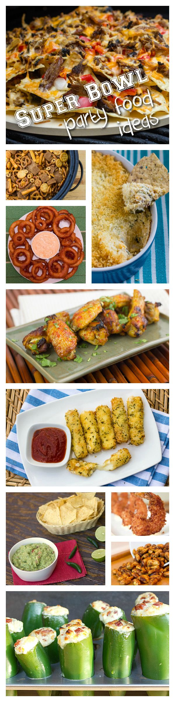 Super Bowl Party Food Ideas