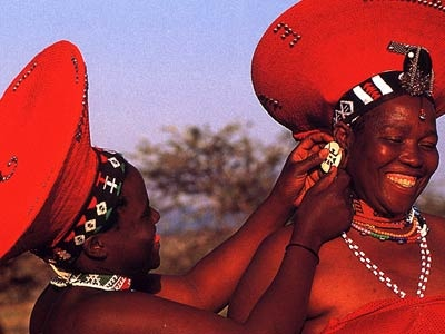 The red hats! Zulu Bride