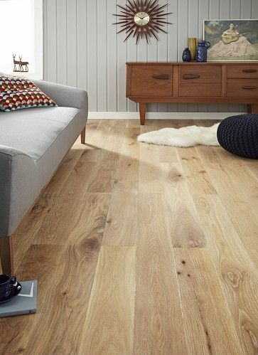1 Strip Limed Oak Engineered Wood Flooring