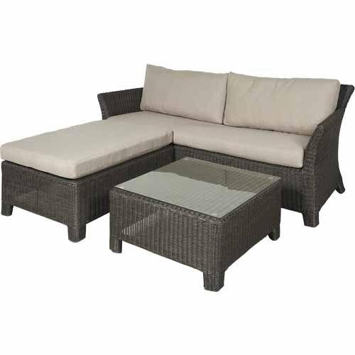 Nouveau Como 3 Piece Lounge Setting - Mitre 10