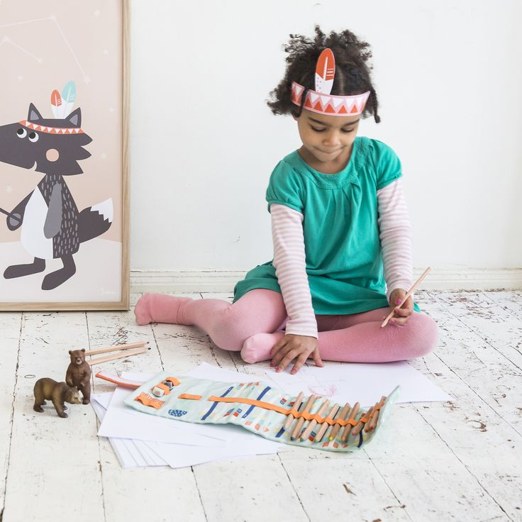 Stiftemappe Stifterolle - tipikids Collection by Julica
