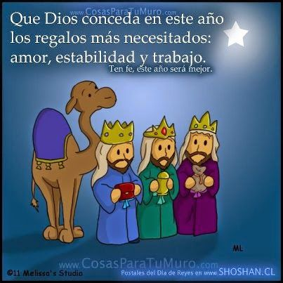 #FelizDiaDeReyes  Reyes Magos