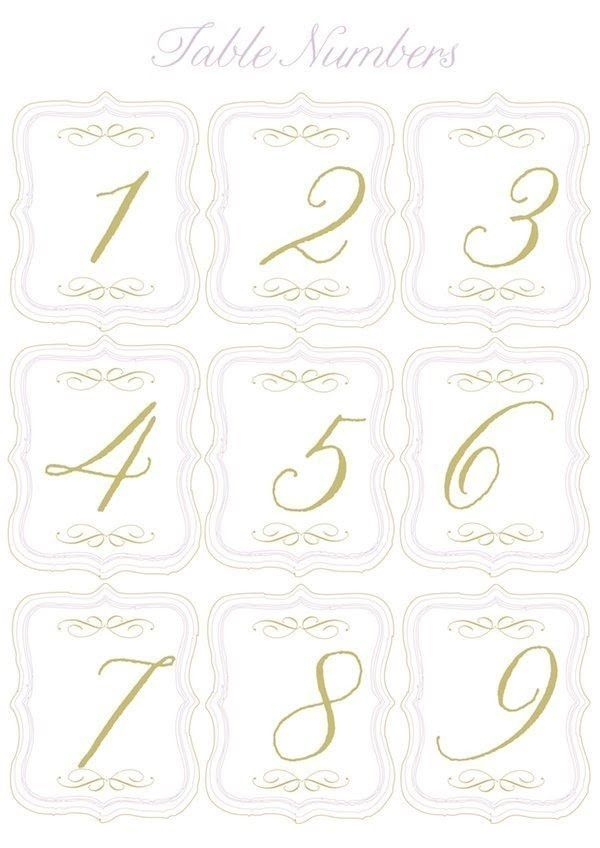 Table Number Template In 2021 Printable Table Numbers Wedding Table Numbers Wedding Printables