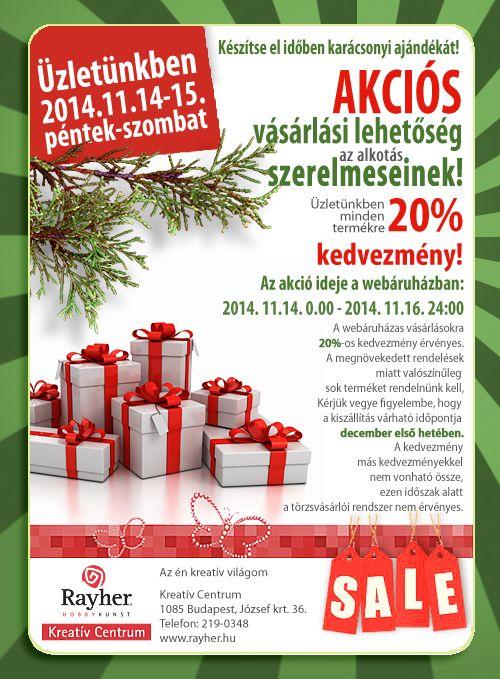 Készítse el időben karácsonyi ajándékát!  http://rayher.hu/hun/index.php