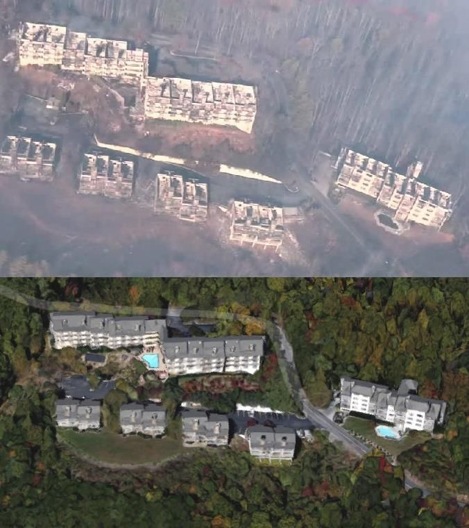 Imgur Gatlinburg Before And After Smoky Mountains