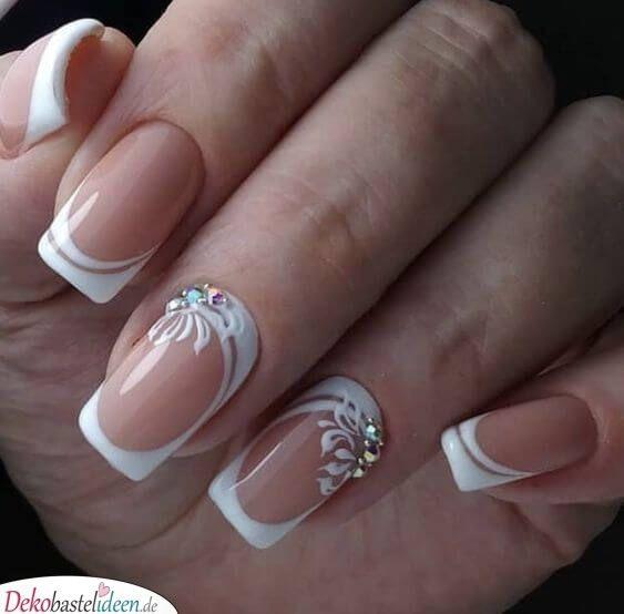 Unhas finas – unhas de noiva   – Hochzeit