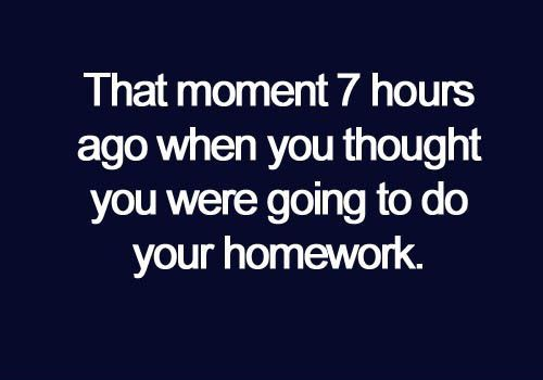 Every. Single. Day.