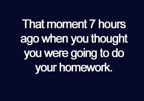 hahahaha story of my life
