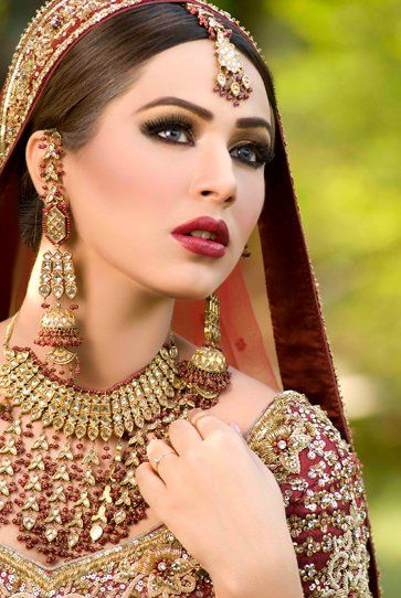 Pakistani Bridal Make Up/Jewelry!!!