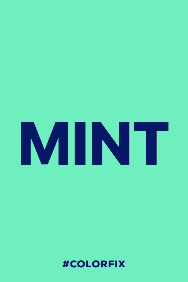 Mint.  #madewithover