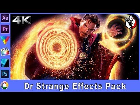 Doctor Strange portal, shield and sparks effects tutorial