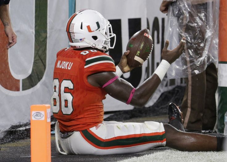 NFL draft profile: Miami (Fla.) TE David Njoku, a young, freakish and ascending athlete