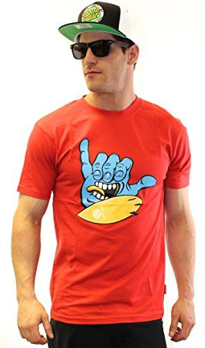Santa Cruz Screaming Shaka Men's T-Shirt- Tomato Red Santa Cruz http://www.amazon.co.uk/dp/B00RPHCGFS/ref=cm_sw_r_pi_dp_pmBcvb0TBYWZC