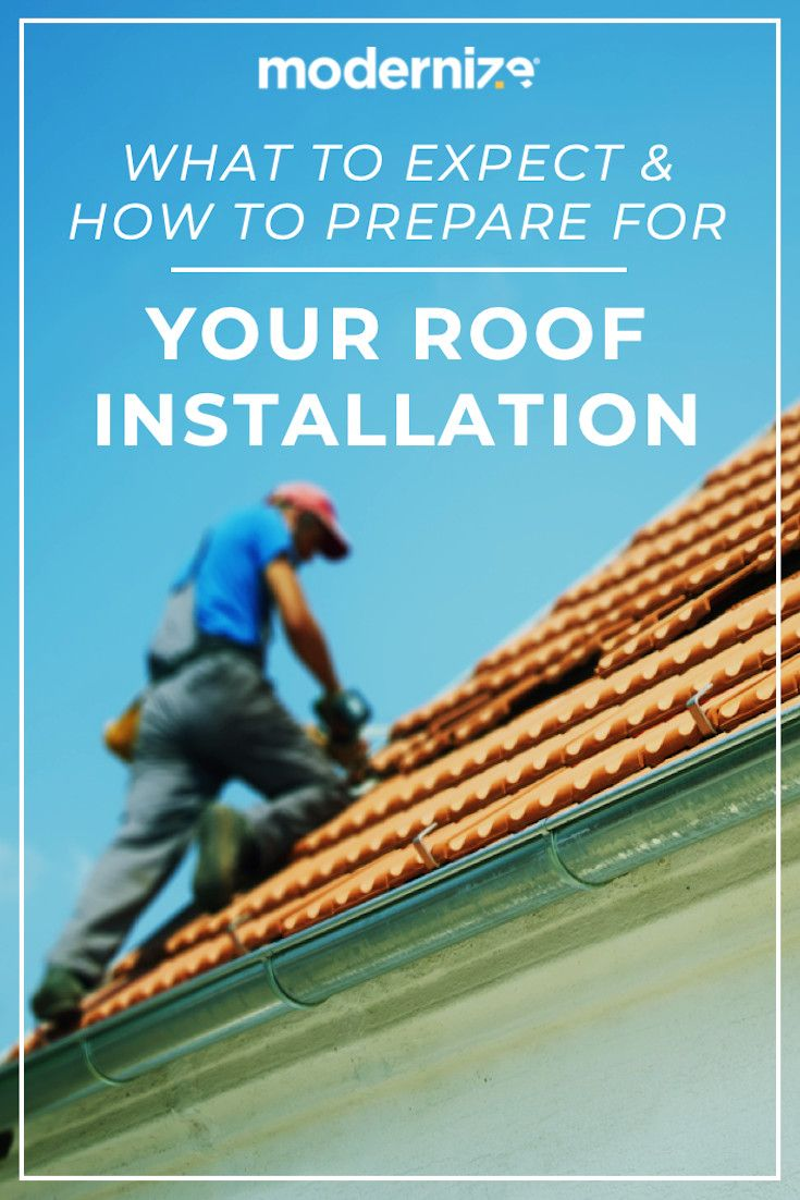 What To Expect During Your Roof Installation Modernize Roof Installation Roof Repair Flat Roof Replacement