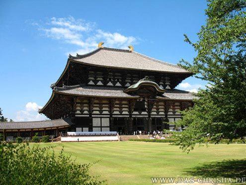 Der Todai-ji-Tempel in Nara, Japan