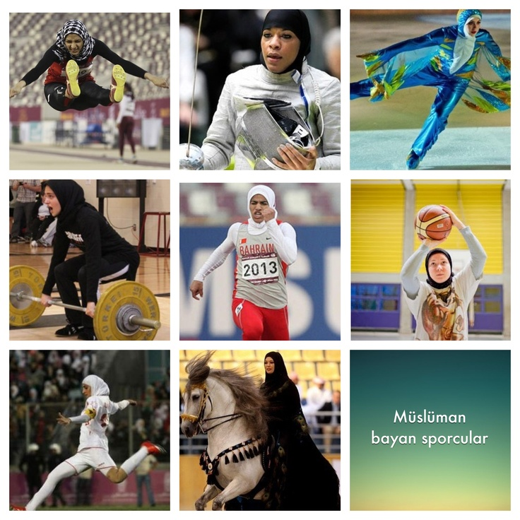 Müslüman bayan sporcular