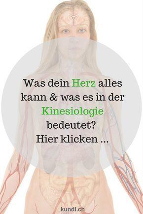 Anatomie & Physiologie deines Herz sowie die Lage, Aufgaben und die Bedeutung des Herz in der Kinesiologie kannst du hier lesen ...
