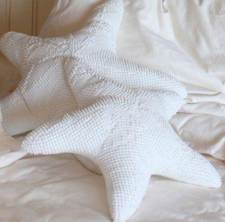 Cozy Up with Sea Life Shaped Pillows -Sand Dollar, Starfish, Seashell, Seahorse
