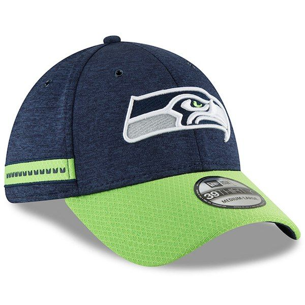 Seattle Seahawks New Era 2018 NFL Sideline Home Official
