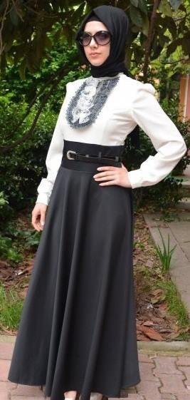 Elegant Hijab Musulmane Muslimah Hijab Covered Modest Fashion Pinterest Mode