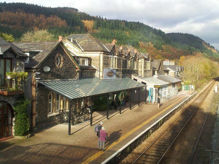 Bettws y Coed Station.