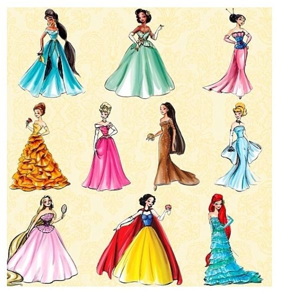 Totally awesome dresses