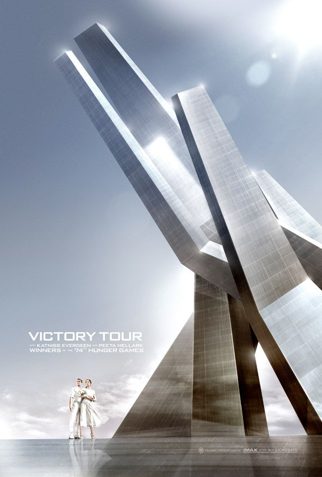 The Hunger Games: Catching Fire poster. Victory Tour