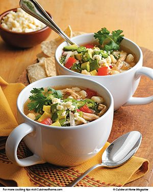 Revamp Thanksgiving leftovers with these healthy recipes for Turkey Pozole Soup and Turkey & Mango Spring Rolls.