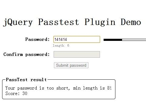 Developing a Password Strength #Plugin with #jQuery : Online SEO Web Service
