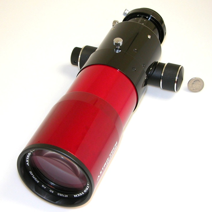 Astro-Tech - AT72ED 72mm f/6 ED doublet refractor, red tube