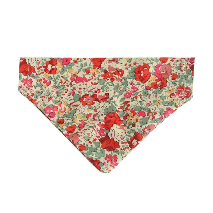 Dog neckerchiefs to match our pretty liberty collars and leads... they just slip on over the collar! #HugoandHennie