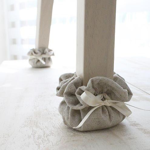 4P SET Chair socks, Floor protector, table legs cover, chair leg socks, table socks, cozy legwarmer, home decor, Chair foot cover
