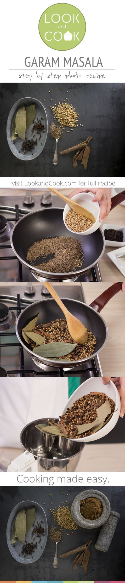 GARAM MASALA RECIPE Garam Masala Recipe (#LC14167): This home made recipe. Get step by step photo recipe at lookandcook.com