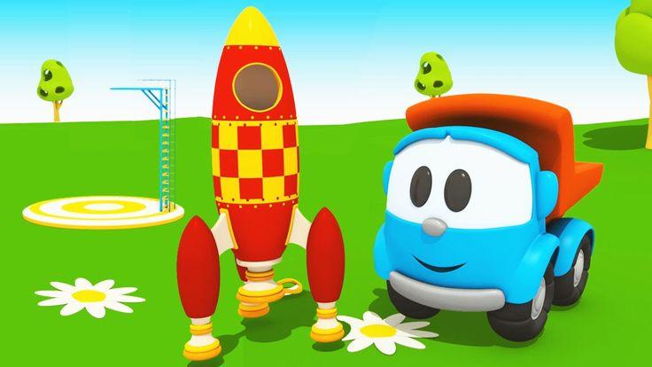 Cartoni Animati per bambini - Camioncino Leo Junior e l'astronave