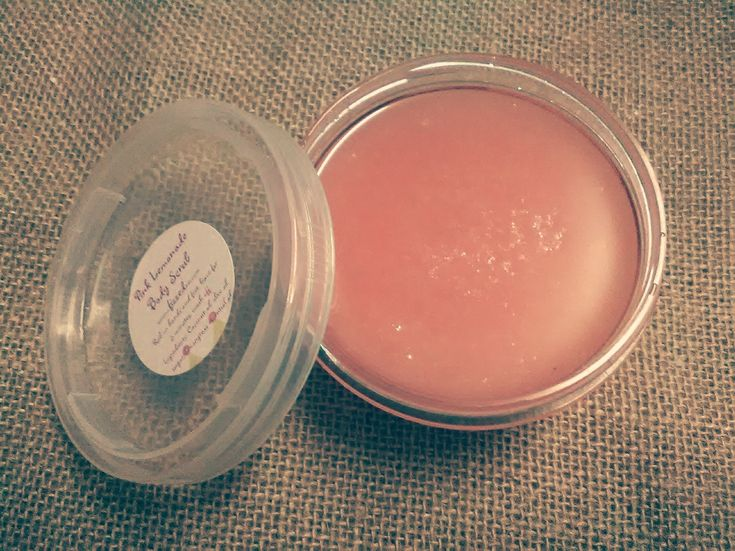 Pink Lemonade Body Scrub ~ By Fizzed au