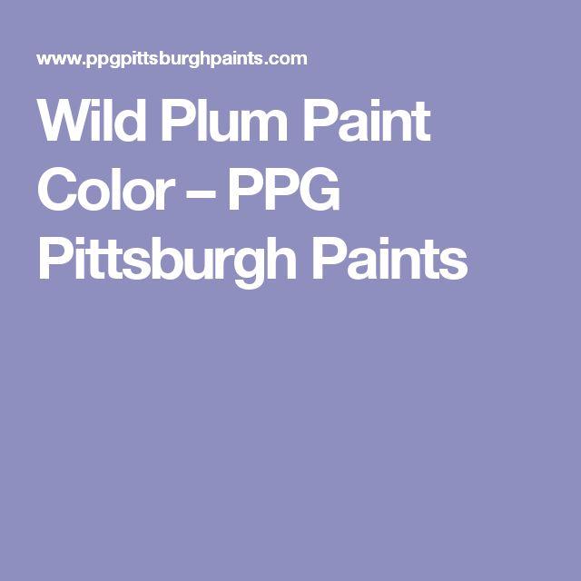 Wild Plum Paint Color – PPG Pittsburgh Paints