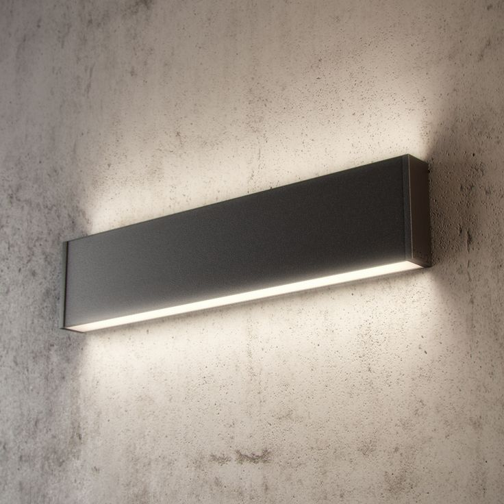Hanging Lights That Plug Into Wall : Slim H LED WALL is a surface mounted wall light with both up and down illumination. It is part ...