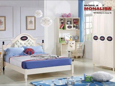 Dormitor Copii baieti Prince   Mobila Dormitoare copii si tineret