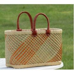 Basket Rariboka. Fair Trade from Madagascar