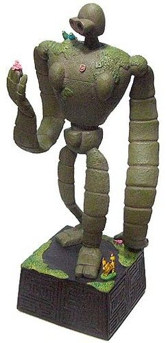 Studio Ghibli Laputa Castle In The Sky Robot Soldier figure Music box