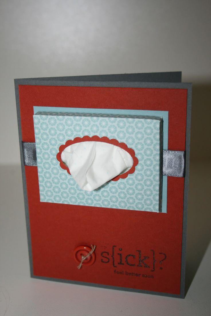 Get Well Card Cute Cards: Kleenex