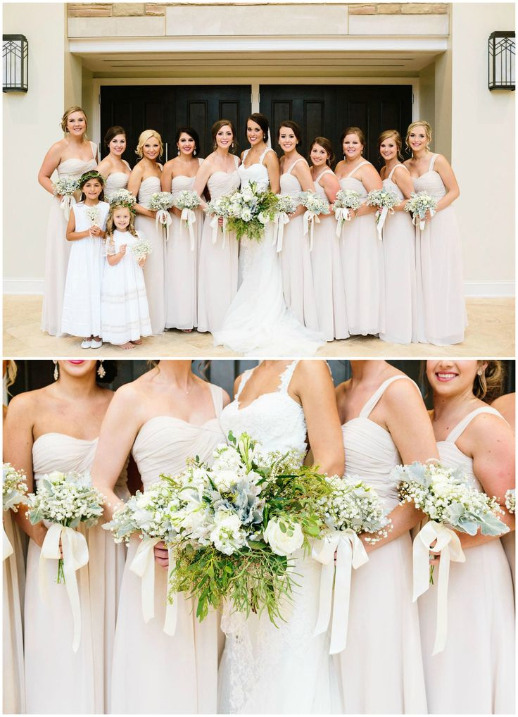 The Smarter Way To Wed White Bridesmaid Dresses White