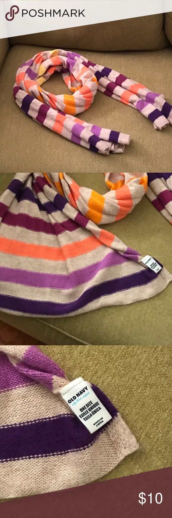 Old Navy Scarf Multiple Colors Stripped Women old Navy Scarf Stripped Multiple colors Accessories Scarves & Wraps