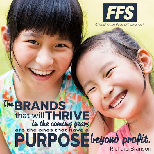 First Financial Security, Inc. is passionate about our purpose, which is helping all people achieve financial security and peace of mind. #ChangingtheFaceofInsurance #Brand #Thrive #Purpose #FFSistheBest #FinancialSecurity