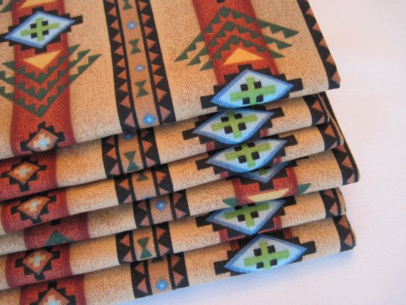 Hey, I found this really awesome Etsy listing at https://www.etsy.com/listing/202378861/southwest-napkins-aztec-napkins-brown